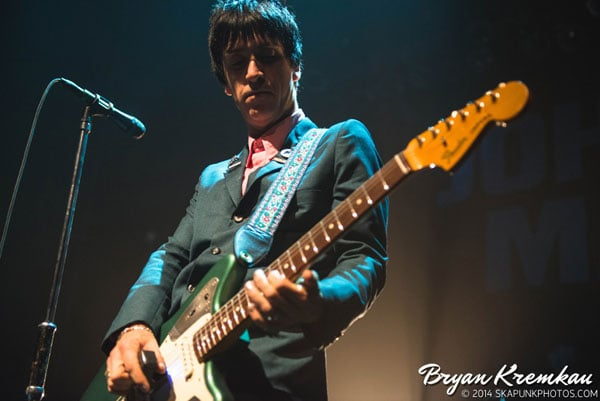 Johnny Marr / Meredith Sheldon @ Gramercy Theatre, NYC - November 12th 2014 (18)