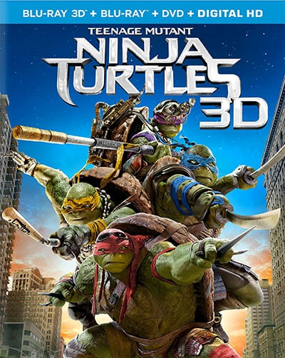 Teenage Mutant Ninja Turtles Blu-Ray review