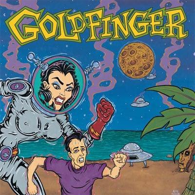 Goldfinger debut LP