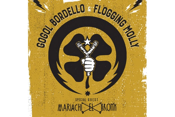 Gogol Bordello and Flogging Molly tour