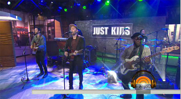 Mat Kearney on The Today Show