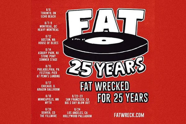 Fat Wreck Chords tour