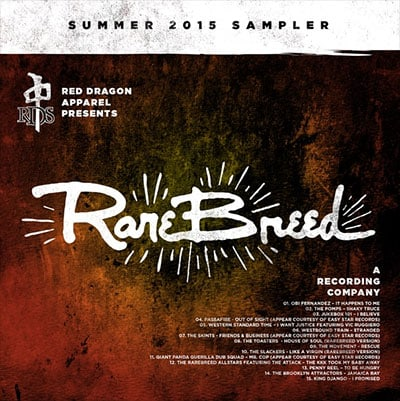 Rare Breed Recording Company sampler