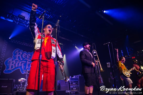 Reel Big Fish / Less Than Jake / Ballyhoo @ Best Buy Theater, NYC (2)