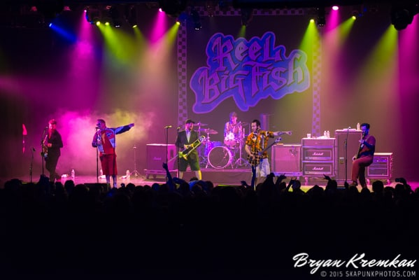 Reel Big Fish / Less Than Jake / Ballyhoo @ Best Buy Theater, NYC (1)