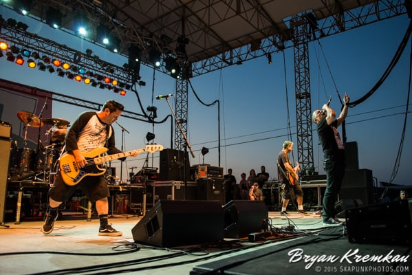 NOFX, Lagwagon, Strung Out, Swingin Utters, The Flatliners, Masked Intruder, Bad Cop Bad Cop, toyGuitar @ Stone Pony Summer Stage (29)