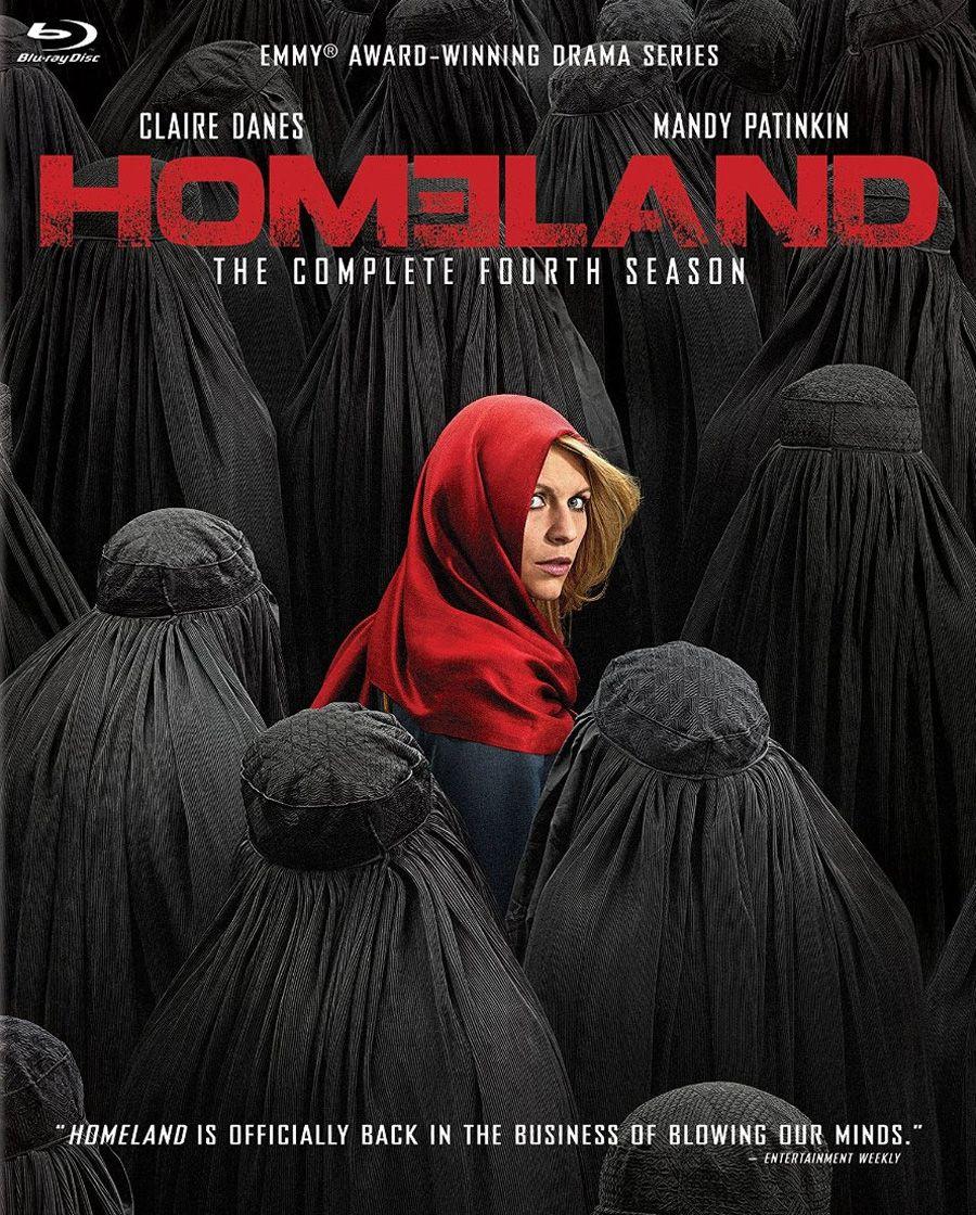 Homeland Season 4 Blu-Ray