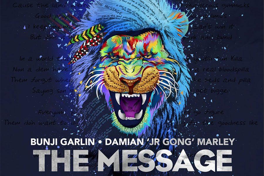 Bunji Garlin & Damian 'Jr. Gong' Marley - The Message