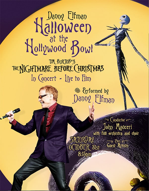 Danny Elfman performing at Hollywood Bowl on Halloween | ReadJunk.com