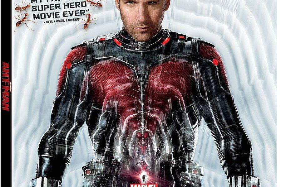Marvel's Ant-Man Blu-Ray
