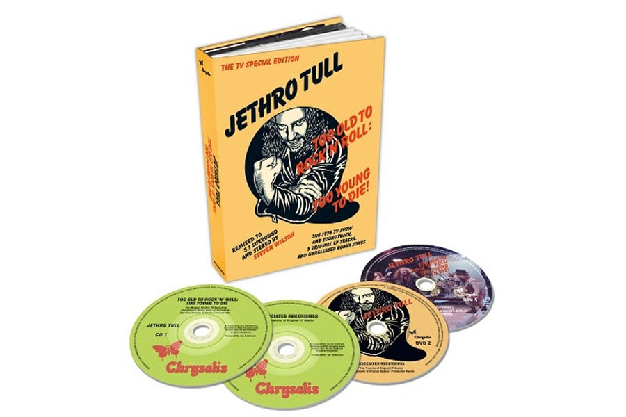 Jethro Tull's Too Old To Rock 'N' Roll Too Young To Die!