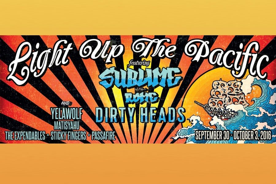 Sublime with Rome's Light Up The Pacific Cruise