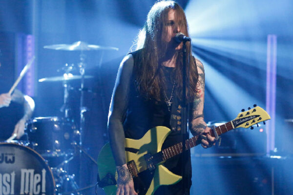 Against Me! on Late Night