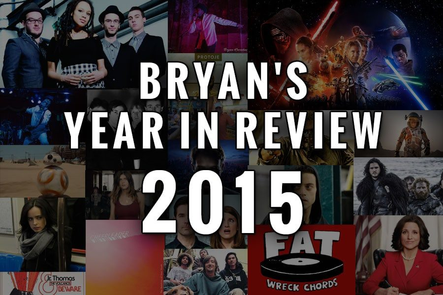 Bryan's Year In Review 2015