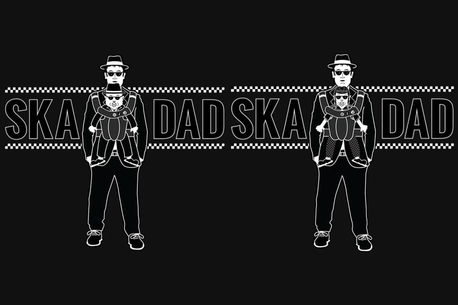 Ska Dad T-shirts for sale