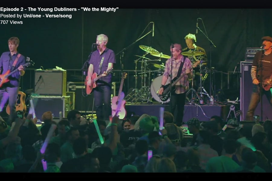 """The Young Dubliners - """"We the Mighty"""""""