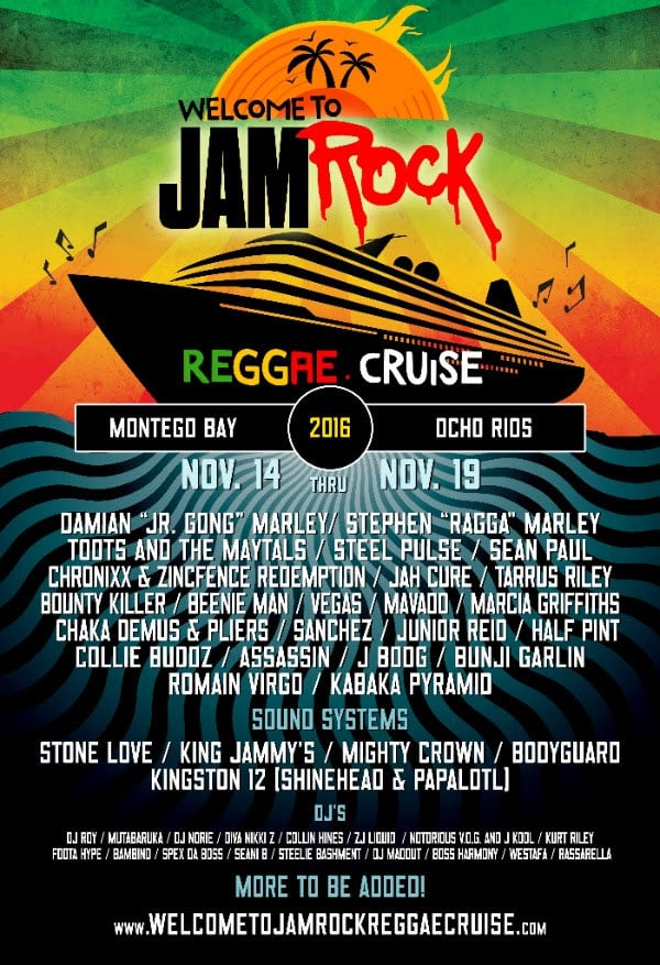 Welcome To Jamrock 2016