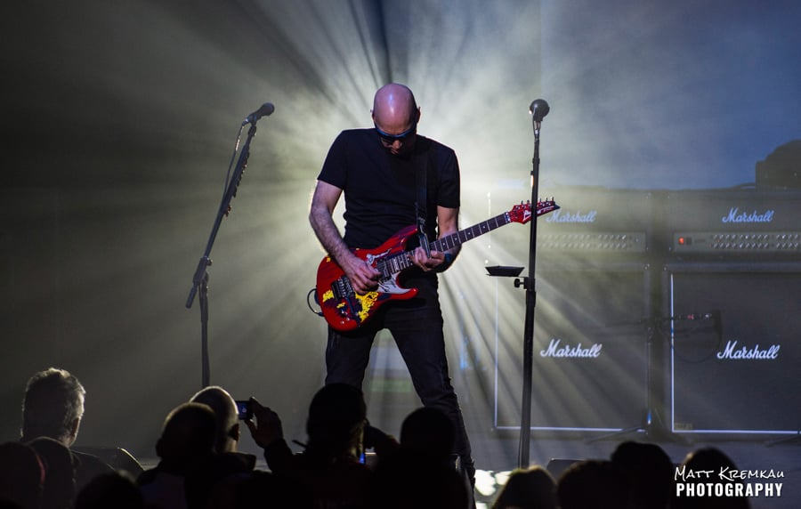 Joe Satriani @ The Capitol Theatre, Port Chester, NY (1)