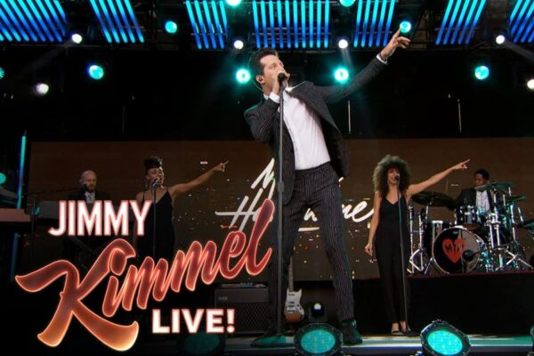 Mayer Hawthorne on Jimmy Kimmel Live