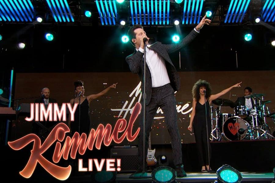 Mayer Hawthorne on Jimmy Kimmel Live