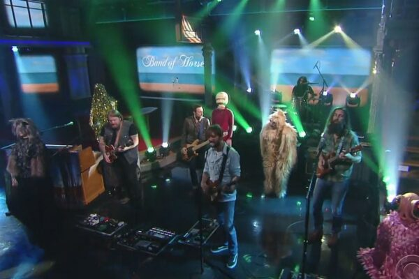 Band Of Horses - The Late Show