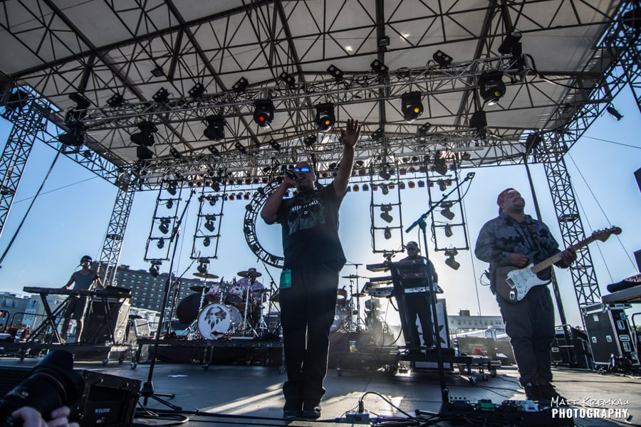 Rebelution, J Boog & The Green, Stick Figure @ Stone Pony Summerstage, Asbury Park, NJ (40)