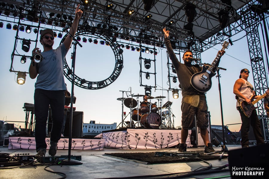 Rebelution, J Boog & The Green, Stick Figure @ Stone Pony Summerstage, Asbury Park, NJ (34)