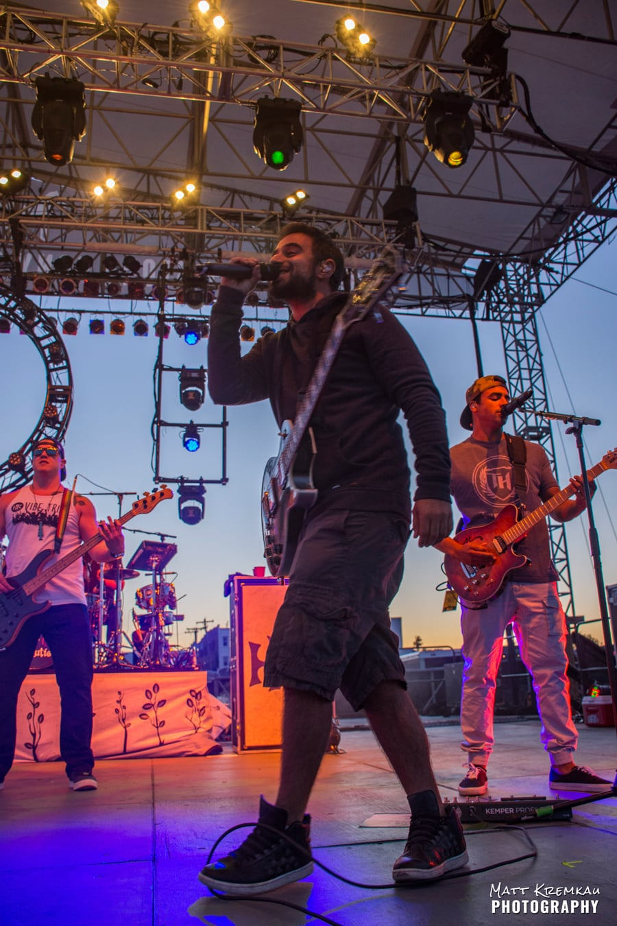 Rebelution, J Boog & The Green, Stick Figure @ Stone Pony Summerstage, Asbury Park, NJ (26)