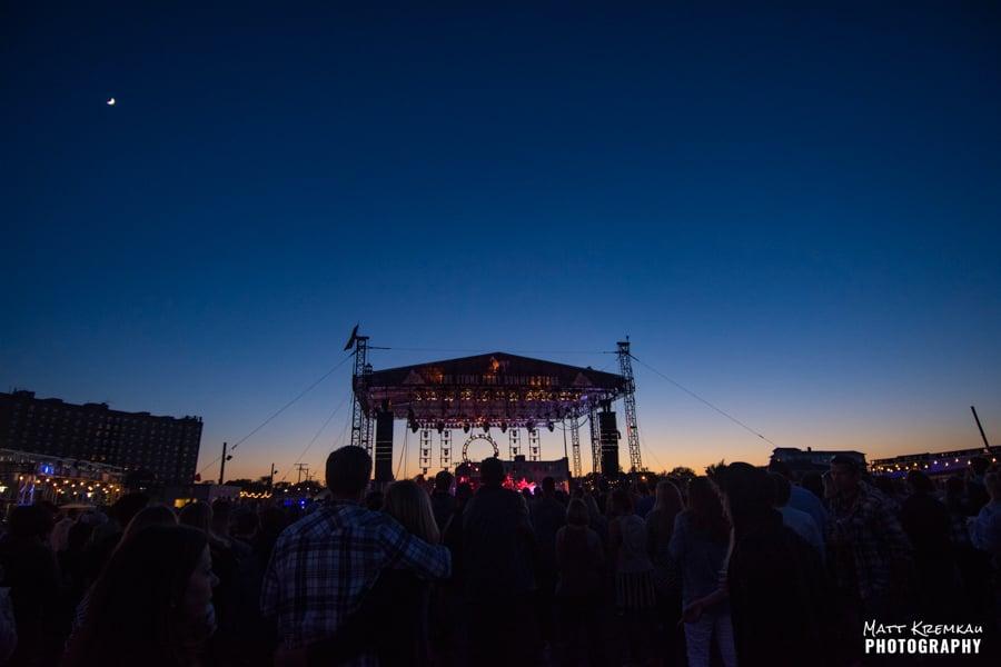 Rebelution, J Boog & The Green, Stick Figure @ Stone Pony Summerstage, Asbury Park, NJ (1)