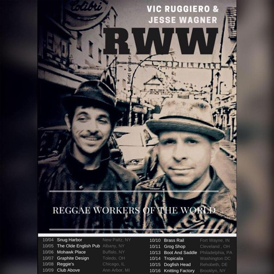 Reggae Workers of the World tour