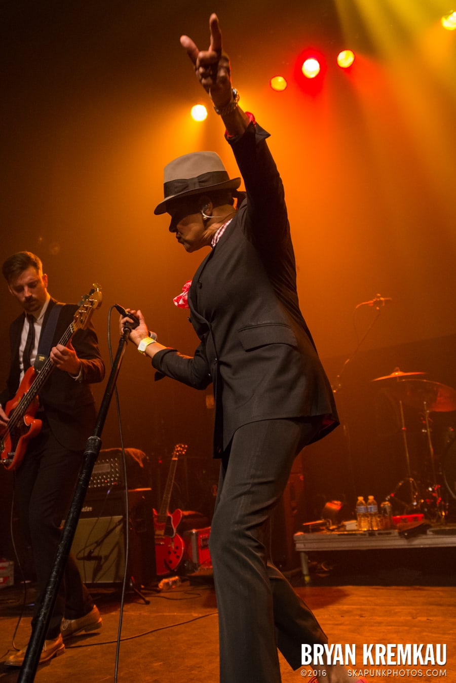 The Selecter, Hub City Stompers, high School Football Heroes @ Gramercy Theatre, NYC (18)