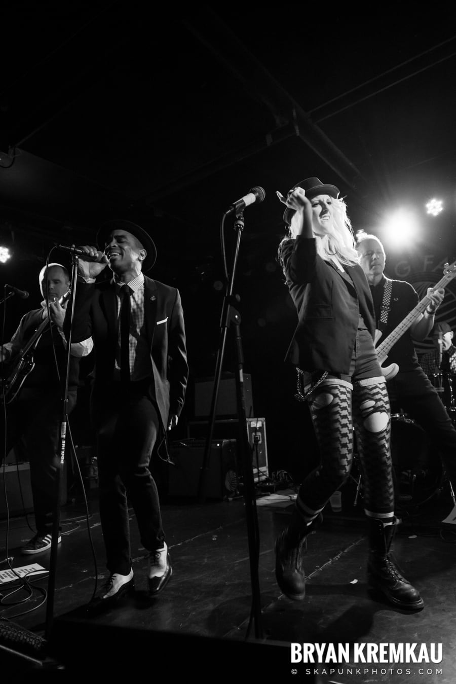 The Skints, Rude Boy George, The Far East @ Knitting Factory, Brooklyn, NY (49)