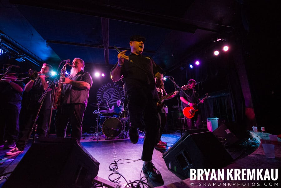 The Porkers, The Pandemics, The Rudie Crew, Skarroñeros @ Knitting Factory, Brooklyn, NY (17)