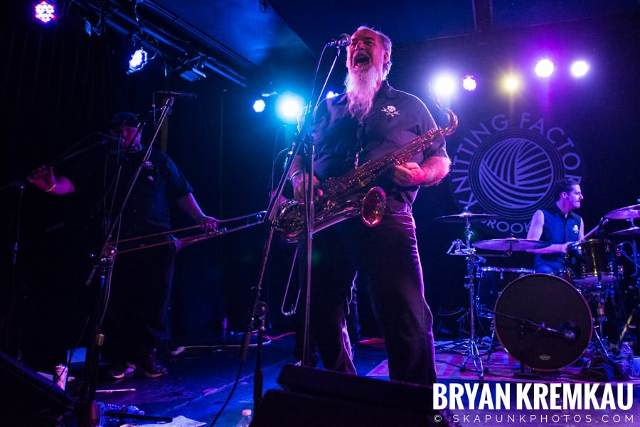 The Porkers, The Pandemics, The Rudie Crew, Skarroñeros @ Knitting Factory, Brooklyn, NY (16)