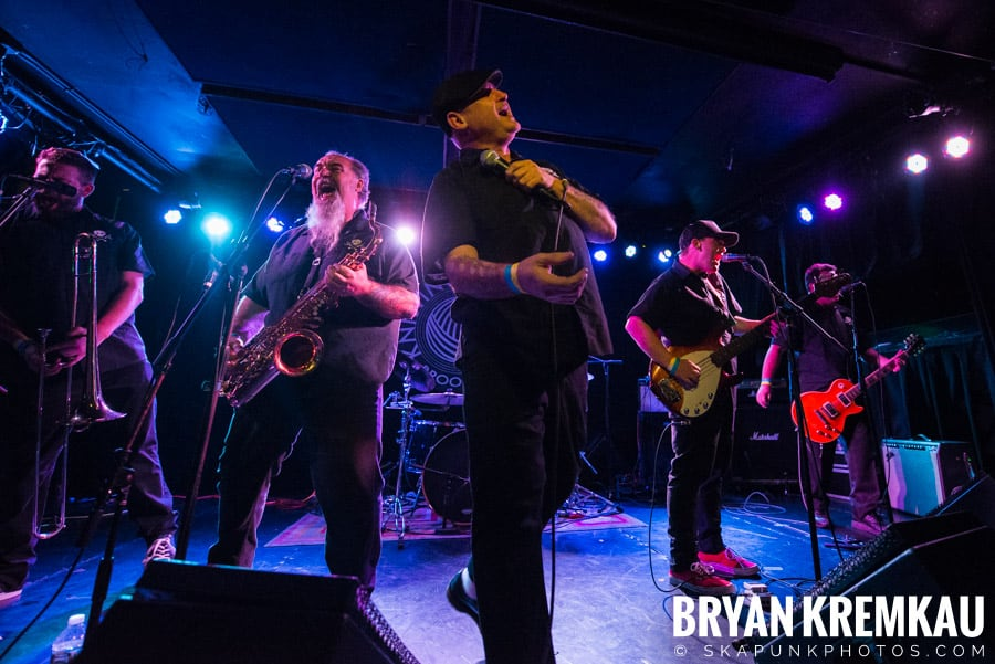 The Porkers, The Pandemics, The Rudie Crew, Skarroñeros @ Knitting Factory, Brooklyn, NY (15)