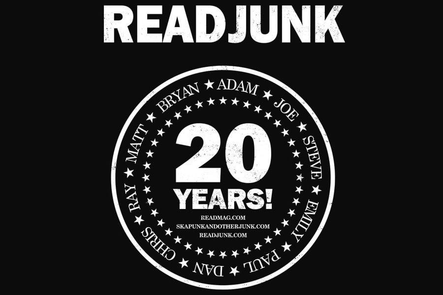 ReadJunk.com 20th Anniversary