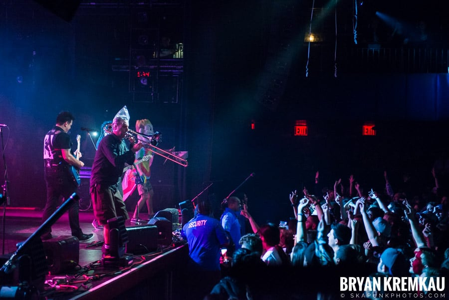 Less Than Jake/Pepper @ Playstation Theater, NYC (26)