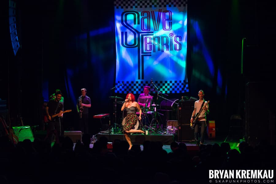 Save Ferris, Rude Boy George, Baby Baby @ Gramercy Theatre, NYC (2)