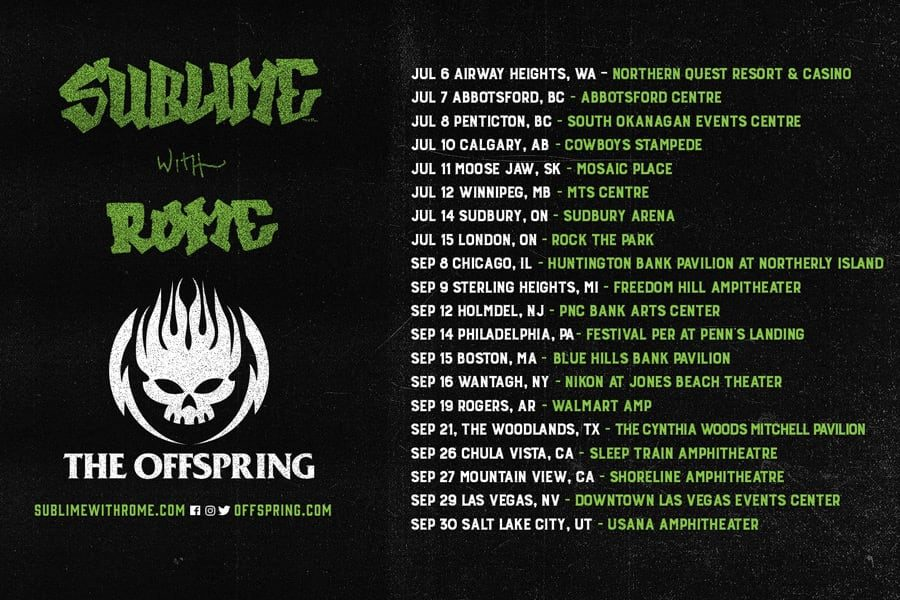 Sublime With Rome / The Offspring