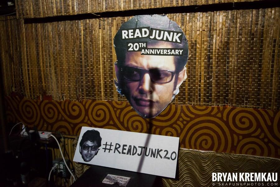 ReadJunk 20th Anniversary Party @ Otto's Shrunken Head, NYC (55)