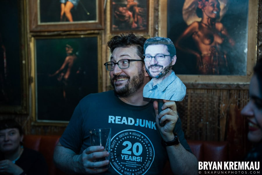 ReadJunk 20th Anniversary Party @ Otto's Shrunken Head, NYC (52)