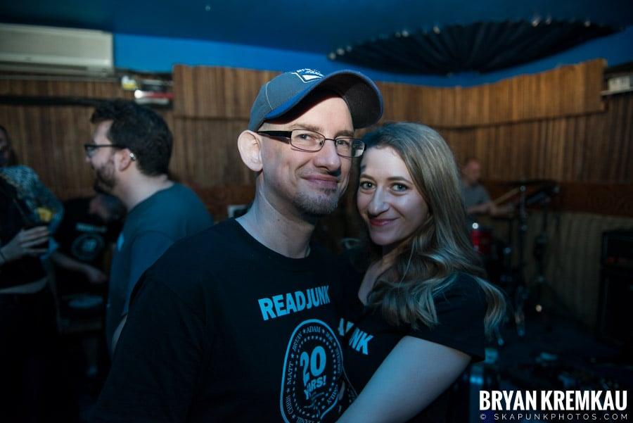 ReadJunk 20th Anniversary Party @ Otto's Shrunken Head, NYC (50)