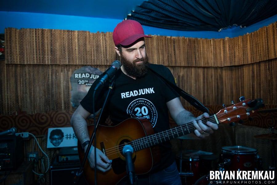 ReadJunk 20th Anniversary Party @ Otto's Shrunken Head, NYC (46)