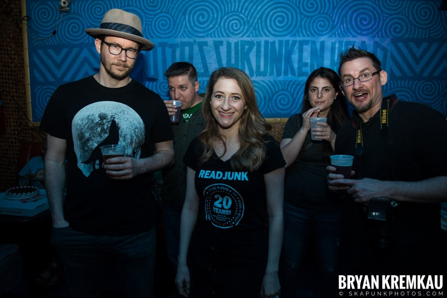 ReadJunk 20th Anniversary Party @ Otto's Shrunken Head, NYC (39)