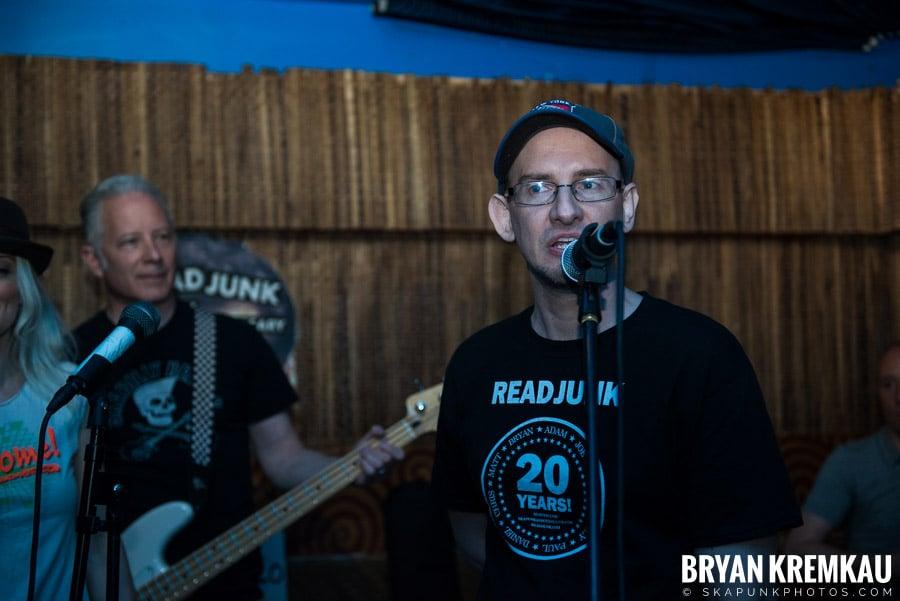 ReadJunk 20th Anniversary Party @ Otto's Shrunken Head, NYC (35)