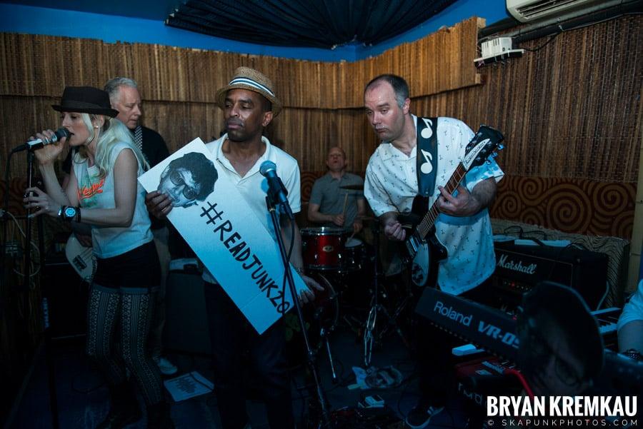 ReadJunk 20th Anniversary Party @ Otto's Shrunken Head, NYC (19)