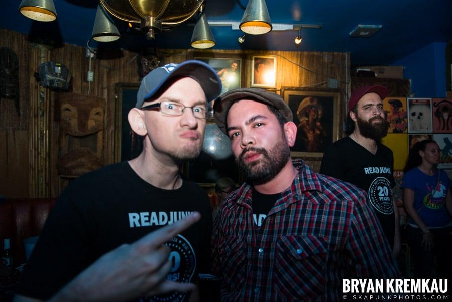 ReadJunk 20th Anniversary Party @ Otto's Shrunken Head, NYC (15)