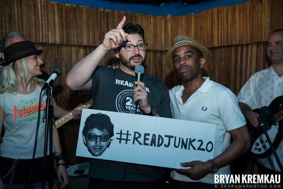 ReadJunk 20th Anniversary Party @ Otto's Shrunken Head, NYC (13)