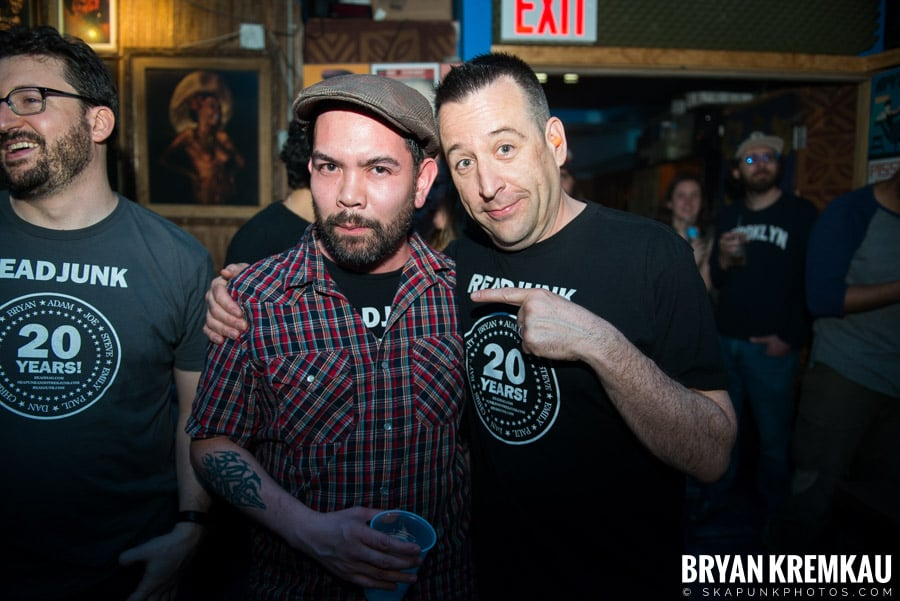ReadJunk 20th Anniversary Party @ Otto's Shrunken Head, NYC (11)