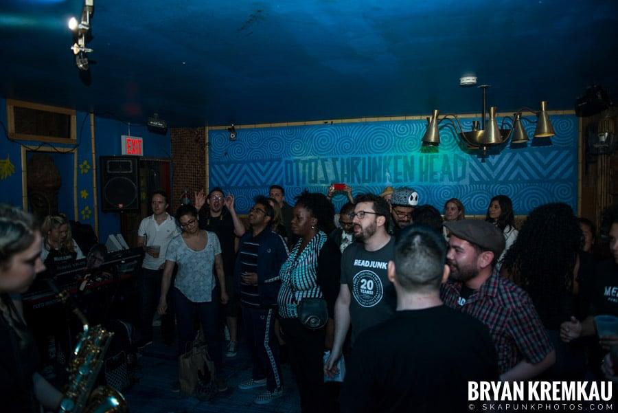 ReadJunk 20th Anniversary Party @ Otto's Shrunken Head, NYC (10)
